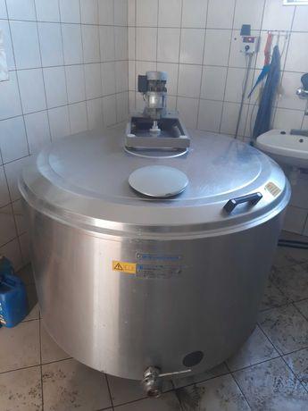 Zbiornik chlodnia schladzalnik do mleka