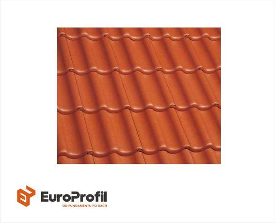 Dachówka betonowa BRAAS Celtycka Lumino grafit, czarny, ceglany, czerw