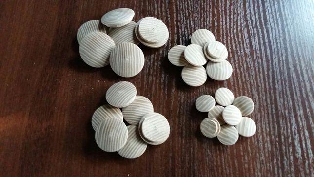 Заглушки деревянные(мебельные)