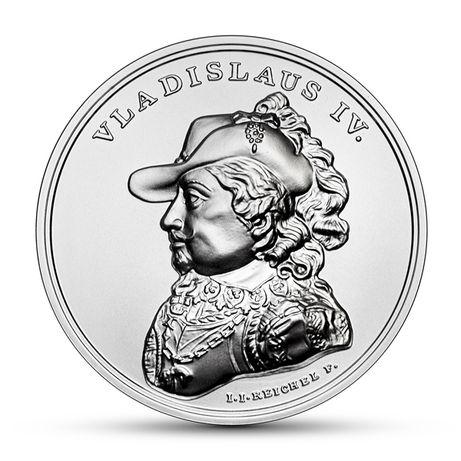 50 zł Skarby Stanisława Augusta Władysław IV Waza + folder