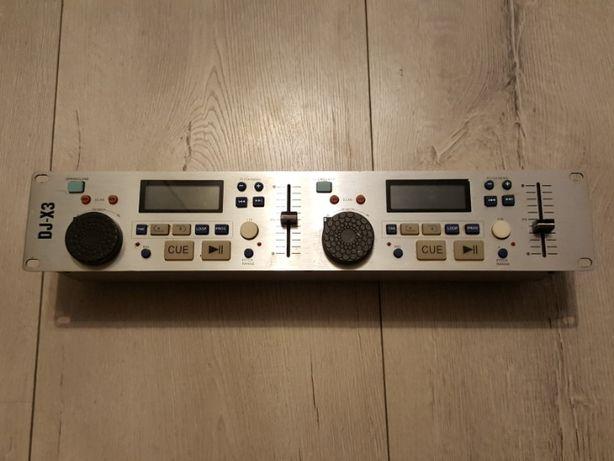 Konsola DJ-a Hollywood DJ-X3 + kabel