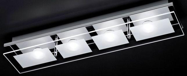 Plafon lampa kinkiet LED Chiron Paul Neuhaus chrom szkło np nad lustro