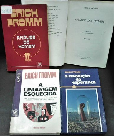 Erich Fromm - livros raros