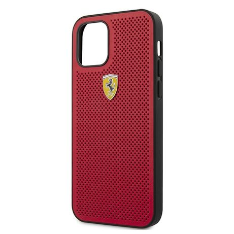 Etui FERRARI - Hard Case On Track Perforated IPhone 12 Max/Pro 6,1