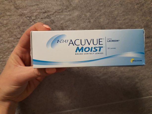 Soczewki acuvue moist -0,50 1 day