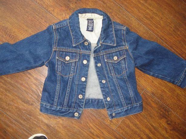 jeansowa kurteczka 92-104