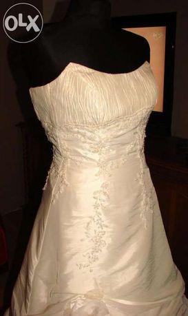 suknia slubna Sposabella 36 ecru okazja