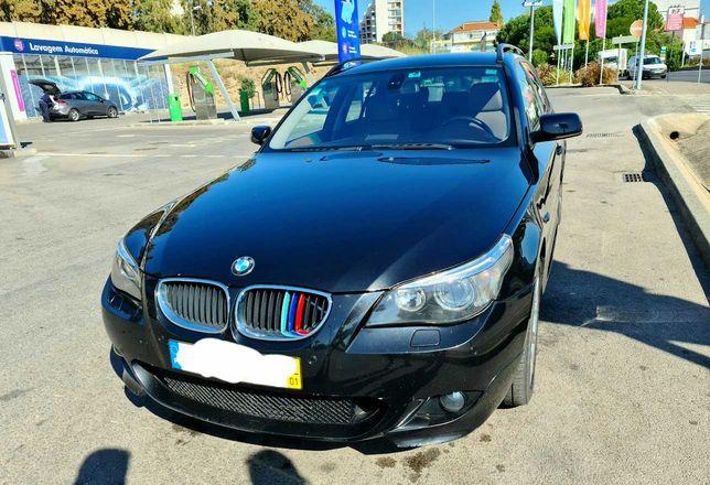 BMW 520 - LOOK PACK M - Selo Antigo