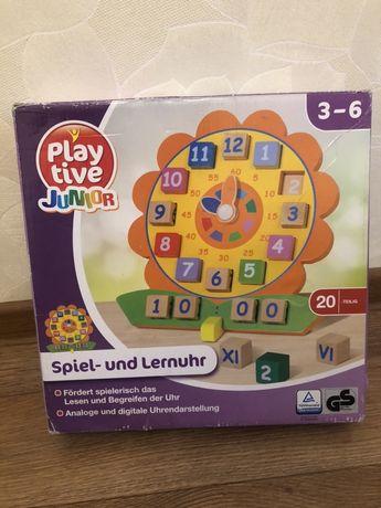 Деревянные часы PlayTive Junior