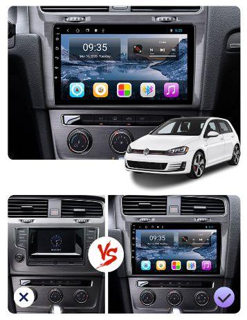 Radio nawigacja Android VW Volkswagen Golf 7 mk7 2012 do 2018 GPS WiFi