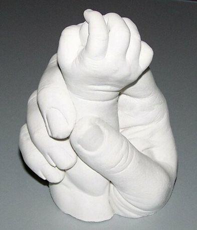 Слепки рук,3D набор для создания слепков рук.