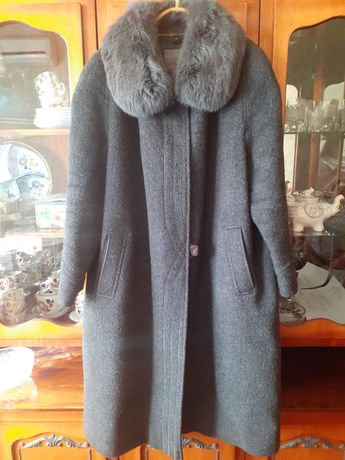 Пальто натуралка 56 р-р