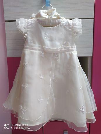Sukienka na roczek, r. 86