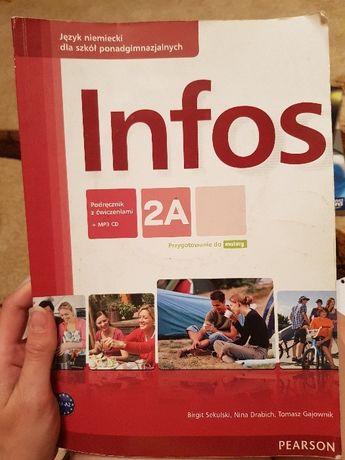 Podręczniki do języka niemieckiego - Infos 2A i 2B