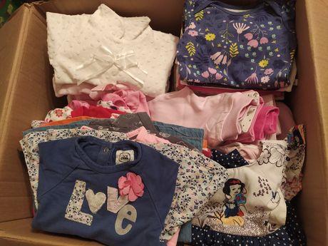 Ubrania dla dziewczynki rozmiar 56-62