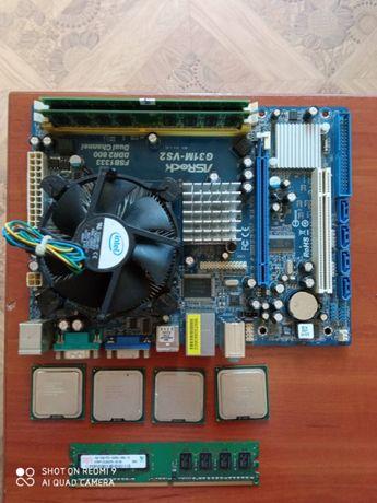 ASRock G31M-VS2 Socket 775 + Intel® Celeron® E3300  + 4GB + Бонус