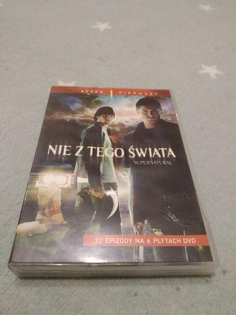 Nie z tego świata , Supernatural - SEZON 1 - DVD