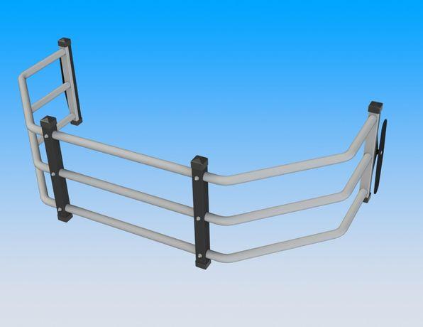 Ограничитель - удлинитель кузова. Bed extender F-150. Tundra. Ram.