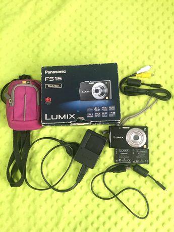 Aparat Panasonic Lumix DMC FS 16 ZESTAW