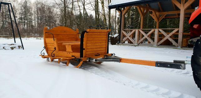 Sannie konne / traktor/ samochod 7osob
