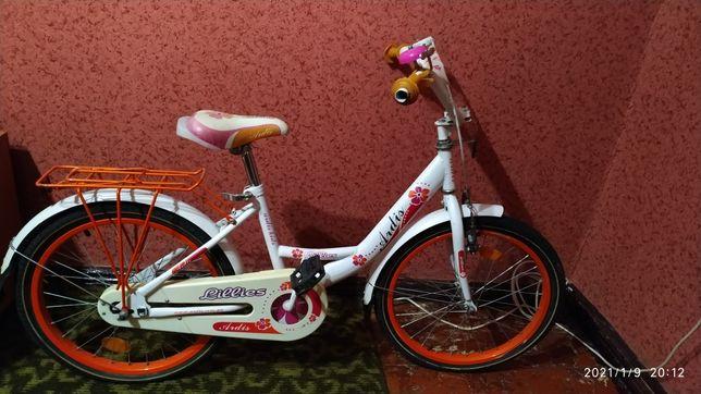 Самовывоз! Велосипед для девочки, детский lillies ardis, колеса 20