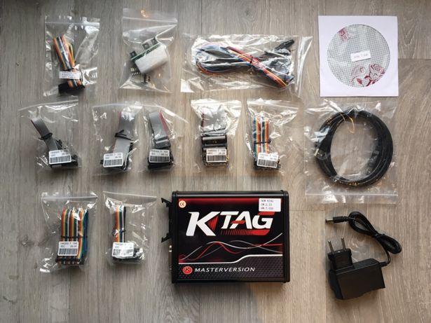 Zestaw Kess Ktag Adaptery 2,47 Tanio K-tag chiptuning czerwony red