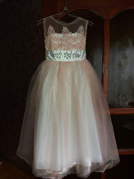 Платье вечернее платье для девочек и туфли