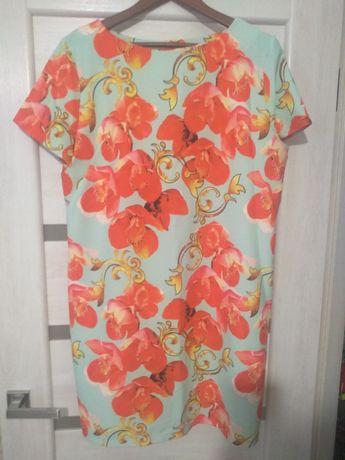Платье летнее нарядное XXL