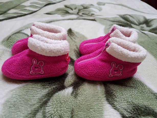 Polarowe buciki 2 pary  - 12,5 cm