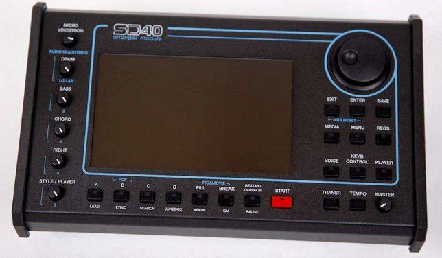 KETRON SD40 -NOWY- Moduł brzmieniowy SD7 mp3 video ZAMIANA na INSTR