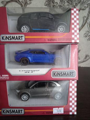 Машинки инерционные Кинсмарт