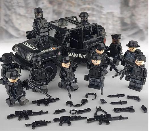 фигурки военных спецназа армии полиции Лего Lego BrickArms