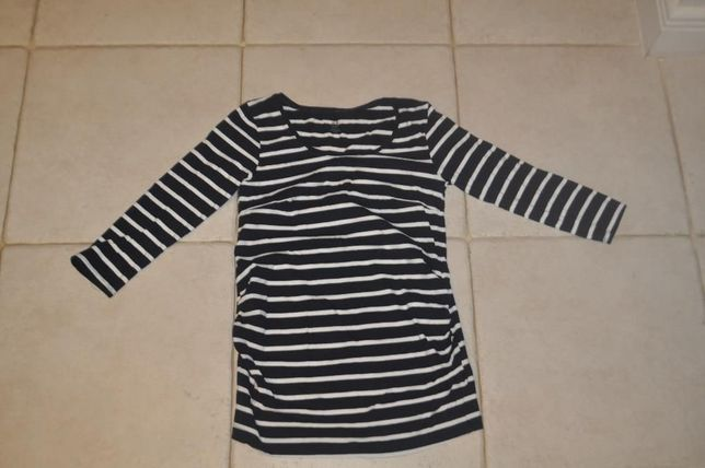 Bluzka ciążowa rękaw 3/4 H&M rozmiar 36