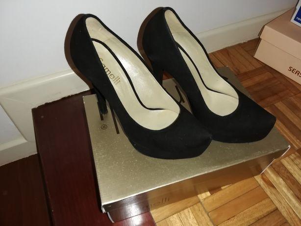 Sapatos Preto Samelli