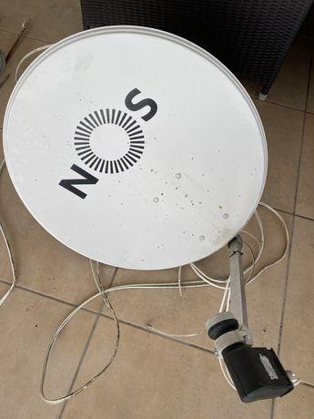 Parabólica satélite NOS