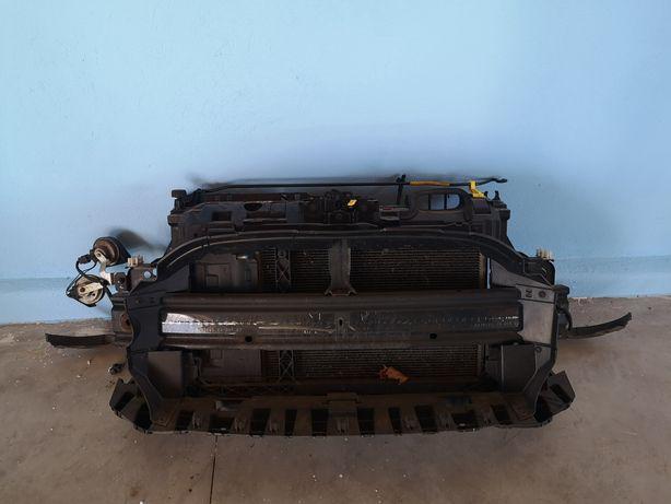 Ford Fiesta MK7 Lift 1.5 TDCI Pas przedni chłodnica