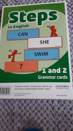 Steps plus 4 5 grammar cards