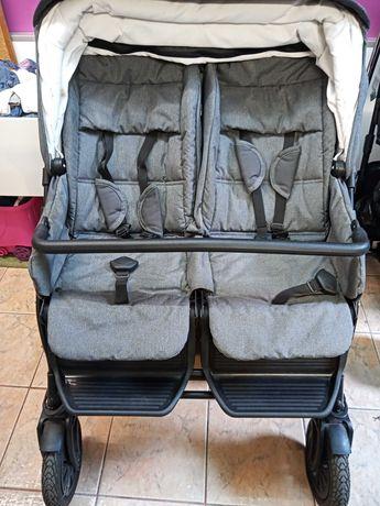 Wózek bliźniaczy Jedo Fyn Duo 2016 3w1