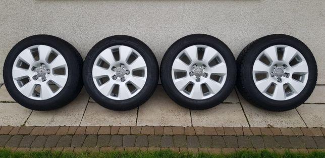 Koła Zimowe Aluminiowe AUDI A4 5x112 205/55R16 Bridgestone Blizzak