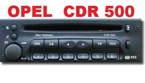 Radio Opel CD ori CDR500