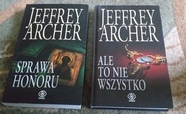 Jeffrey  Archer - Sprawa honoru, Ale to nie wszystko