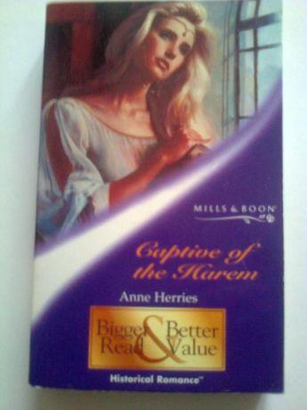 romanse Harlequin Historical Captive of the Harem - Anne Herries