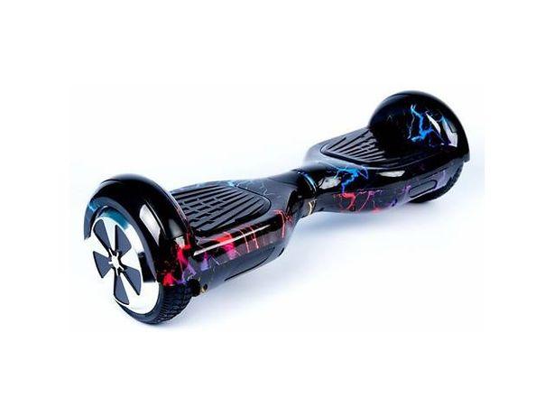 Гироборд 6.5д Hoverbot (Ховербот) гироскутер Цвет Цветная молния