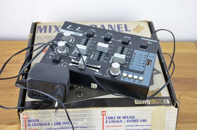 Mikser Promix 50U HQ POWER 2 kanałowy USB