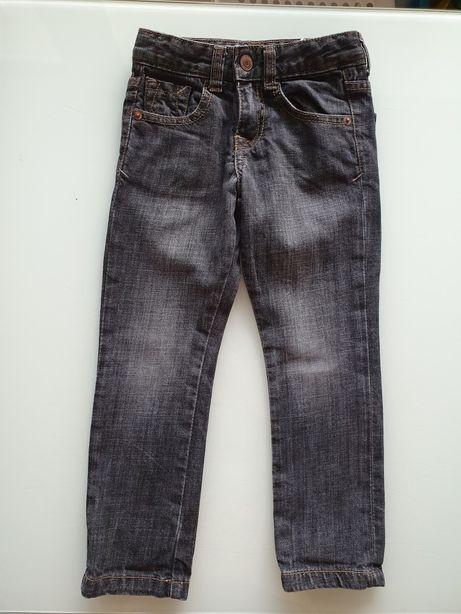 ZARA fajne jeansy chłopięce czarne 104 cm!