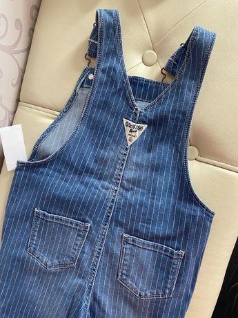 Джинсовый комбинезон джинсы oshkosh, carter's 4 г