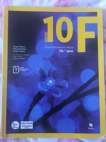 Fisica A - Novo 10 F - 10 º Ano - Usados - Impecaveis