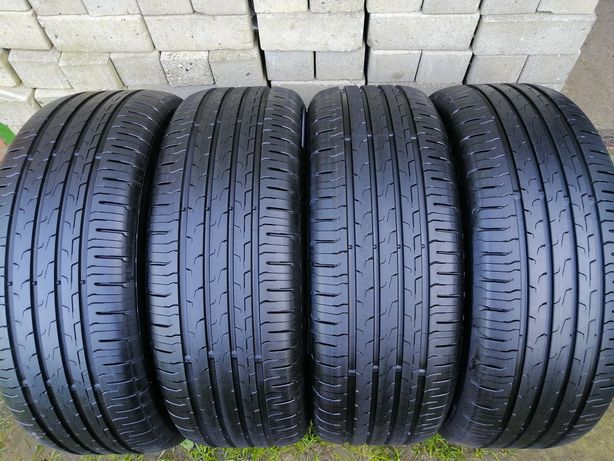 4x 215/55 R17 94V Continental EcoContact6 jak Nowe