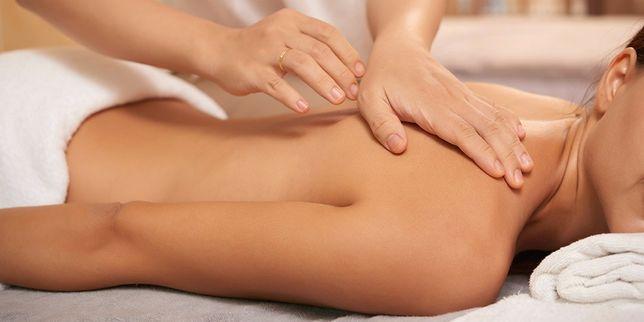 Классический массаж спины!
