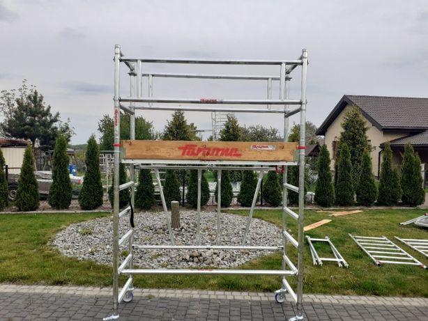 Rusztowanie Aluminiowe Jezdne Faraone Compact 3,70m szer 75cm dł 180cm